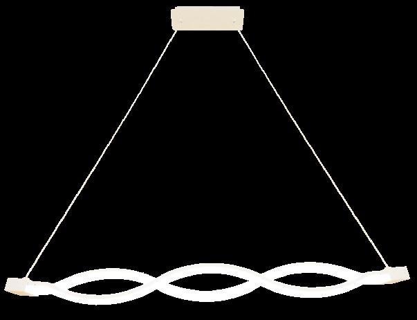 Подвесной интерьерный светильник ГЛОРИЯ 650х90х90мм