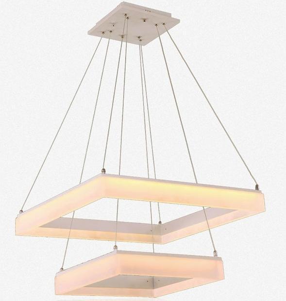 Подвесной интерьерный светильник ГЛОРИЯ 800х800мм