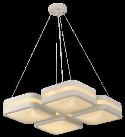 Подвесной интерьерный светильник ГЛОРИЯ 510х510мм