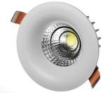 Встраиваемый светильник Downlight с поворотным механизмом
